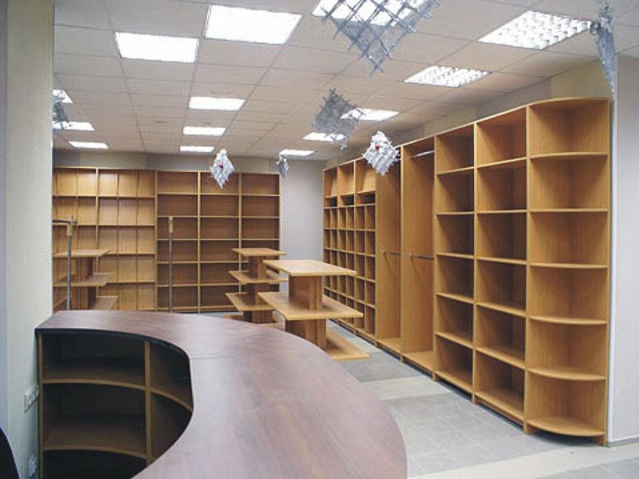 Торговая мебель на заказ в москве
