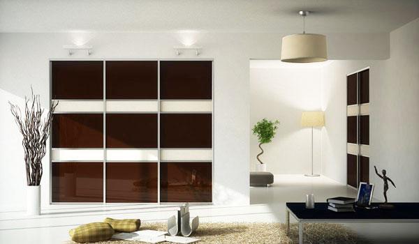 Встроенные шкафы-купе и Раздвижные двери